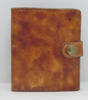 WALLET-MOTTLED MID TAN A